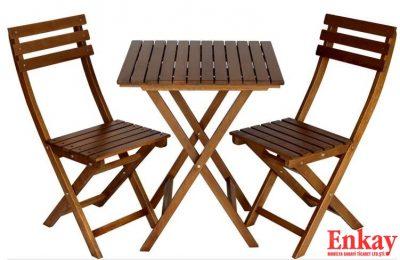 Ahşap Dış Mekan Sandalyeleri